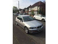 bmw 316ti compact 87000 miles silver excellent condition