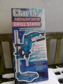 Drill stand adaptor for power drill