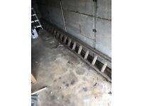 ~10m Wooden Ladder
