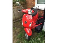 Lovely LX125 2013 Low Mileage One Lady Owner