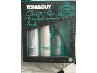 Toni and Guy hair products