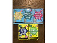 Five games of snap to learn maths - brand new