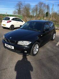 BMW 1 Series 2006 1.6 Petrol Black *LOW MILES*