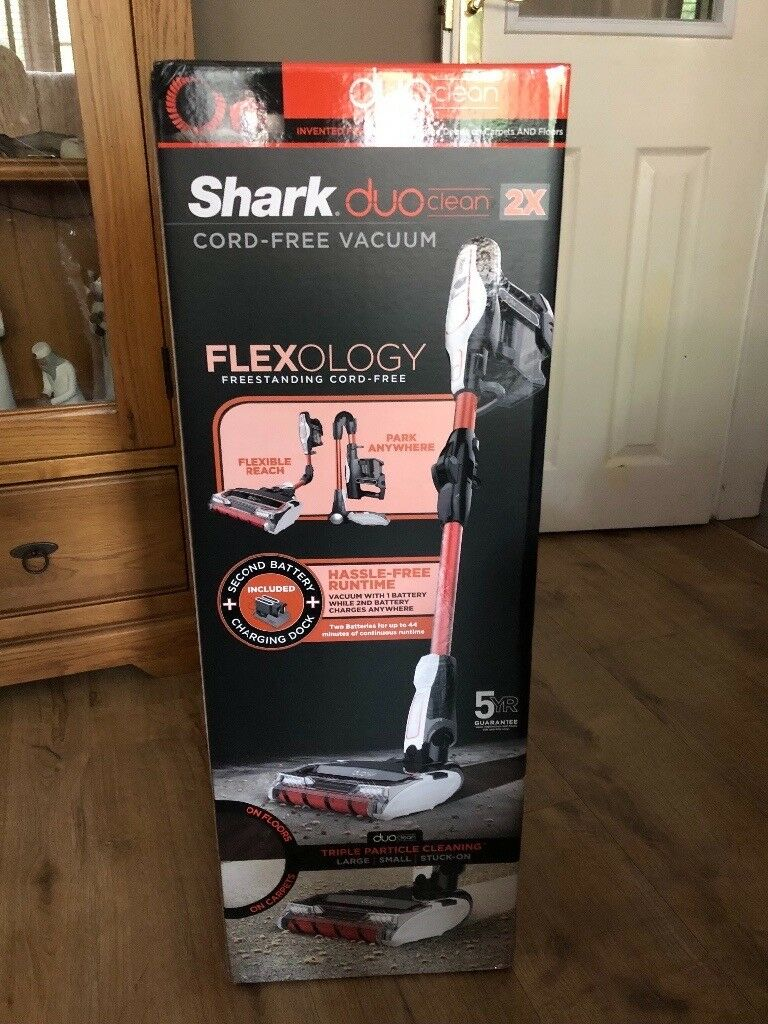Shark Duoclean Cordless Vacuum Cleaner With Flexology