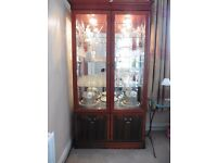 China Display Cabinet (contents not included)