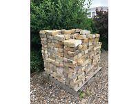Pallet of 520 London stock bricks (reclaimed)