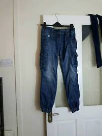 Crafted jeans