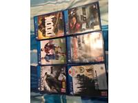 PS4 games 60£ for all games read description