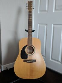 Left Handed Norman B20 Acoustic Guitar