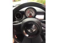 Mini Cooper convertible black 1.6L petrol 2011 reg