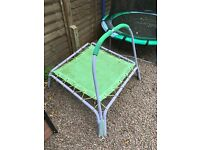 Well used trampoline