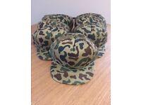 Job Lot - Camouflage caps