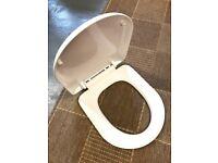 Toilet seat from BATHCO - soft shut
