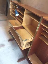 Desk office vintage wooden original