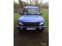 Land Rover Discovery TD5. 2002 year. One Owner.