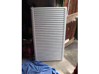 Brand new wall radiator never used. Size is 110cm x 60cm with wall brackets.