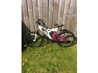 Girls Muddy Fox Bike Bicycle In Good Condition