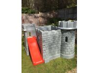 Little Tikes Castle. Used good condition. Could do with a clean.