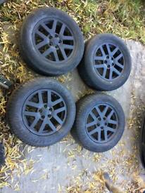 Landrover Discovery 3 wheels & tyres x4