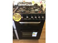 SERVIS 60CM BRAND NEW ALL GAS COOKER IN BLACK