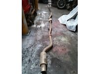 SUBARU IMPREZA COBRA TURBO BACK STAINLESS STEEL EXHAUST