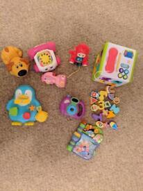6 month + toy bundle