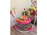 Fisher-Price Petals Jumperoo/Bouncer (Pink)