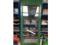 Heavy Door with glass panel