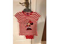 Minnie Mouse Pyjamas Age 4-5 years.