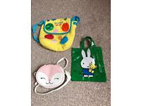 Selection of children's bags