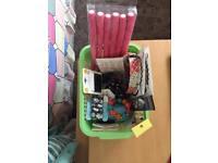 Box of accessories