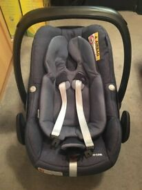 Maxi-Cosi Pebble Plus i-Size Baby Car Seat, Nomad Blue