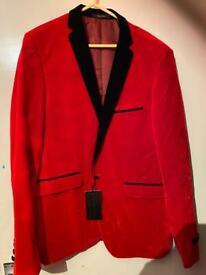 Smart red blazer
