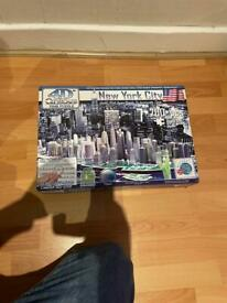 New York City 3D glow in the dark puzzle