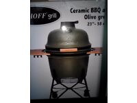 Kamado ceramic barbecue