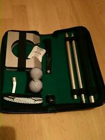 Travel/office golf set