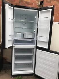 Fridge freezer Hotpoint Quattro black