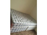 **REDUCED** Double bed with mattress