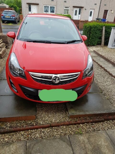 Price drop Vauxhall Corsa S Ecoflex Red 14 plate 998cc engine 12,900 miles  | in Renfrew, Renfrewshire | Gumtree