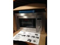 Hot point built in kitchen microwave oven