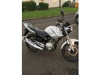 Yamaha ybr 125 ** very low mileage **. Brand new mot