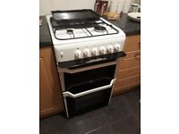 Indesit Free standing Gas Cooker only 3 years old