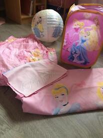 Disney princess bedroom accessories