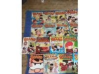DANDY AND BEANO COMIC AND ANNUALS