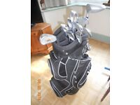 Penfold Golf Clubs and Bag