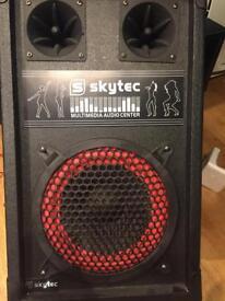 Skytec spb - 8b Speakers USB SD Mp3
