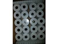 FULL BOX OF 20 PAYMENT CARD MACHINE ROLLS