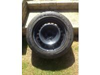 ALPHA TYRE ON RIM, 215/55/16, FITS MERCEDES