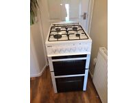 BEKO GAS COOKER WITH 4 RINGS AND GRILL