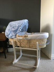 Moses basket and all accessories